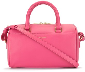 Yves Saint Laurent Pre Owned Baby Duffle Leather Bag