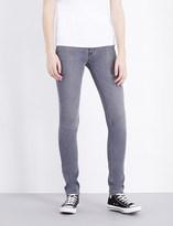Hudson Shine skinny mid-rise jeans