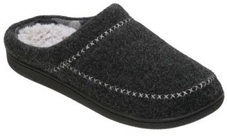 Dearfoams Women's Felt X-Stitch Clog Slippers