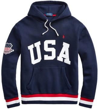 Ralph Lauren USA Logo Hoodie