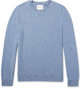 Derek Rose Finley Mélange Cashmere Sweater