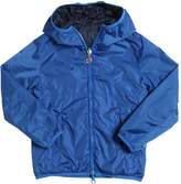 Invicta Reversible Hooded Nylon Windbreaker