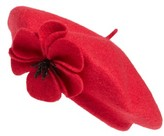 Kate Spade Women's Felt Poppy Beret - Red