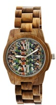 Earth Heartwood Collection EW1508 Unisex Watch