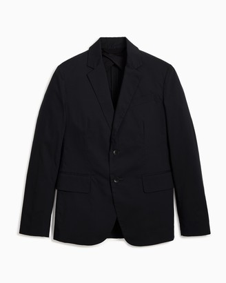 Rag & Bone Deconstructed razor cotton blazer