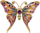 Jay Strongwater Arlyn Grand Butterfly Pin