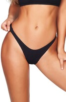 Bound By Bond Eye The Scene High-Cut Ribbed Bikini Bottoms