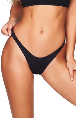 BOUND by Bond-Eye The Scene High-Cut Ribbed Bikini Bottoms