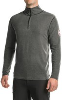 Neve Swiss Racer Sweater - Merino Wool-TENCEL®, Zip Neck (For Men)