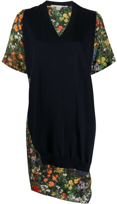 Stella McCartney Asymmetric Panelled Dress