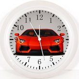 """Ikea New Super Car Wall Clock 10"""" Will Be Nice Gift and Room Wall Decor Y83"""