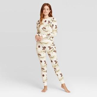 Stars Above Women's Striped Thermal Pajama Set - Stars AboveTM