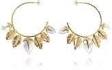 Aurelie Bidermann Talitha Hoop Earrings