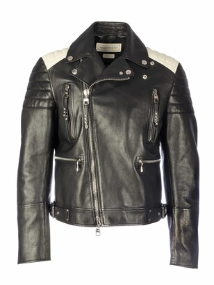 Alexander McQueen Shiny Leather Jacket