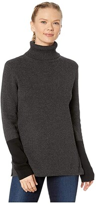 Royal Robbins All Season Merino Turtleneck (Charcoal) Women's Sweater
