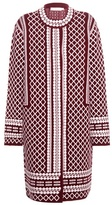 Tory Burch Knitted Wool-blend Coat