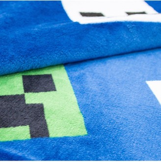 Minecraft Creeps Fleece Blanket