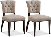 Set of 2 Brooklyn Dining Side Chairs, Direct Ship
