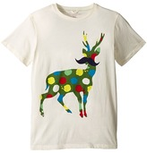 Stella McCartney Arlo Paint Splatter Deer Logo Tee Boy's T Shirt