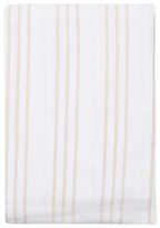 Melange Home Yarn Dyed Triple Stripe Cotton Blanket