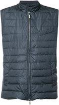 Eleventy sleeveless padded jacket - men - Nylon - S