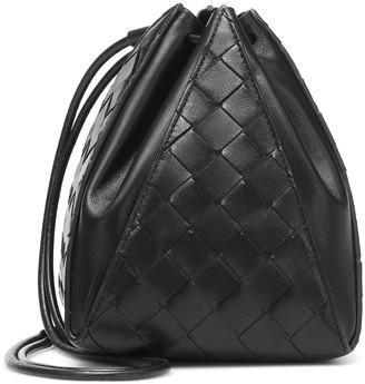 Bottega Veneta Mini Knot leather bucket bag