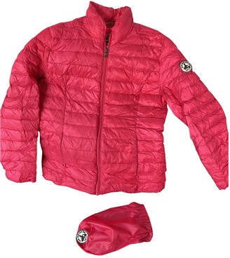 JOTT Pink Faux fur Leather Jacket for Women