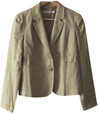 See by Chloe Beige Cotton Jackets