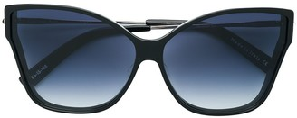Christian Roth Oversized Butterfly Shape Sunglasses