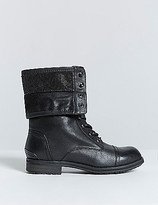 Lane Bryant Lace-Up Combat Boot