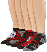 Marvel Star Wars Darth Vader 5-pk. Low Cut Socks