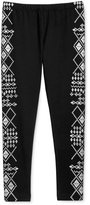 Epic Threads Girls' Geo-Print Leggings, Only at Macy's
