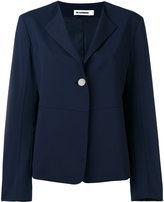 Jil Sander one button blazer - women - Silk/Polyester/Spandex/Elastane/Virgin Wool - 34
