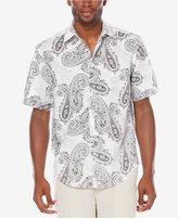 Cubavera Men's Short-Sleeve Paisley Print Shirt