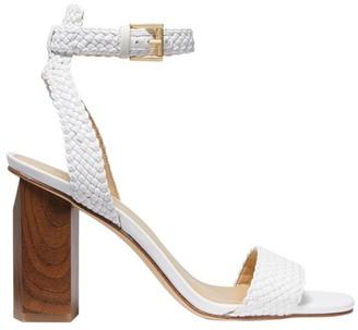 MICHAEL Michael Kors Petra Ankle-Strap Braided Sandals