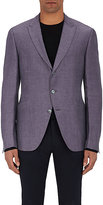 John Varvatos MEN'S LINEN-SILK THREE-BUTTON SPORTCOAT