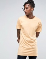 ONLY & SONS Longline Raw Edge T-Shirt