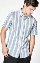 Ezekiel Parker Striped Short Sleeve Button Up Shirt