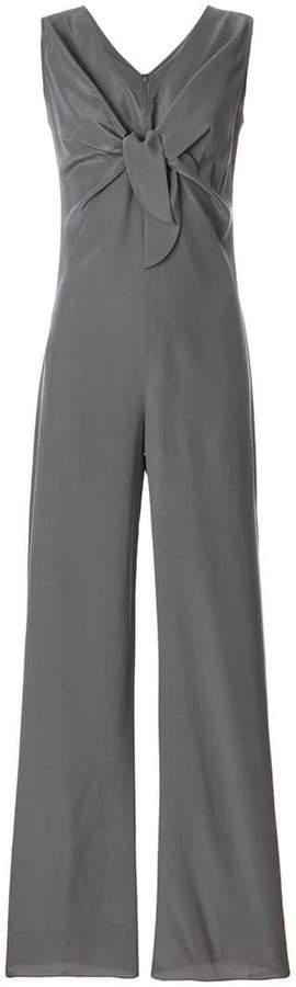 Aspesi knot front sleeveless jumpsuit