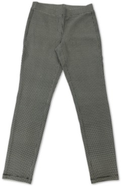 Style&Co. Style & Co Houndstooth-Print Pull-On Pants, Created for Macy's