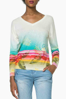 Desigual Crater Tropical Sweater