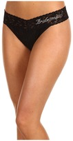 Hanky Panky Bridesmaid Original Rise Bridal Party Thong