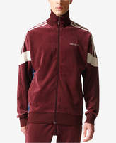 adidas Men's Originals Challenger Velour Track Jacket