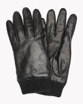 Theory Gloves with Rib Knit