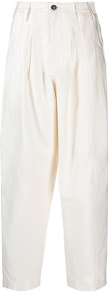 Closed Bella pleated twill trousers