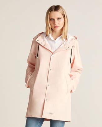 Stutterheim Light Pink Stockholm Long Raincoat