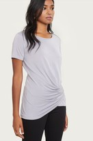 Dynamite T-Shirt With Draped Front