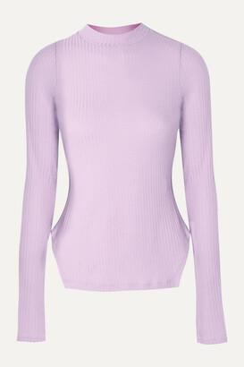 REJINA PYO + Net Sustain Candice Ribbed Tencel-blend Jersey Top