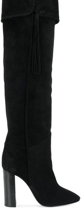 Saint Laurent Maurice thigh boots