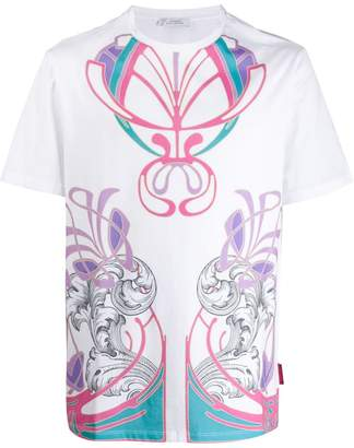 Versace abstract patterned T-shirt